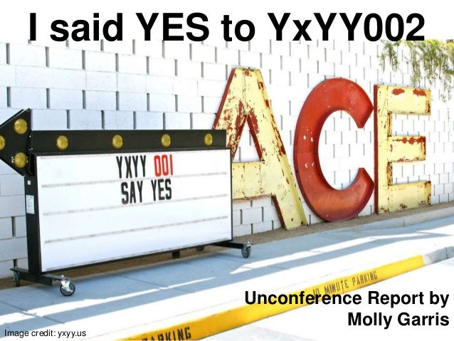 Will YxYY replace SXSW? Why yes, this un-conference, Yes and Yes Yes, certainly could.