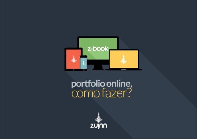 z-book - Portfolio online, como fazer?