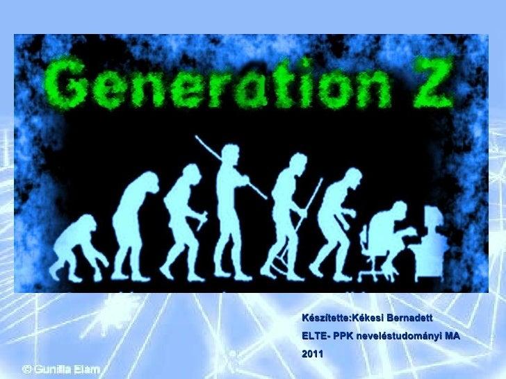Z generáció - kékesi