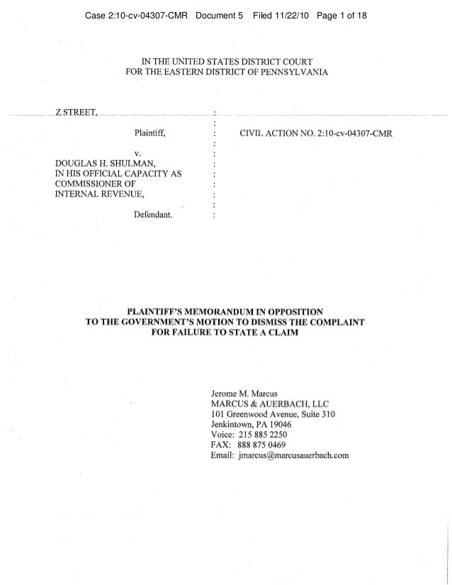 Case 2:10-cv-04307-CMR Document 5 Filed 11/22/10 Page 1 of 18