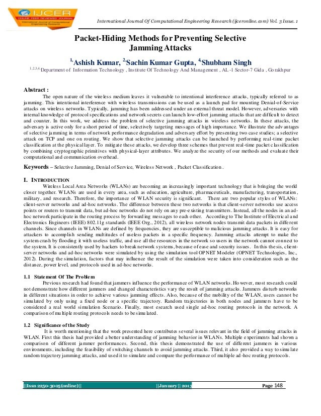 I nternational Journal Of Computational Engineering Research (ijceronline.com) Vol. 3 Issue. 1                            ...