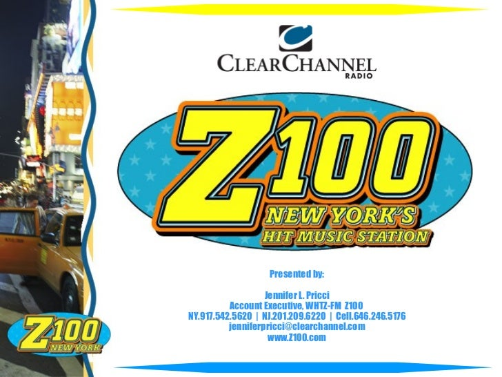 Z100 clearchannelgeneralcapabilities