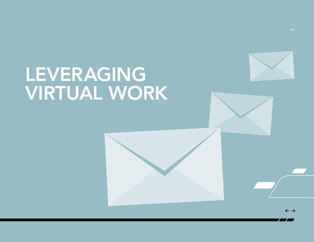 the evolving virtual workplace Students who enter the workforce with well-developed skills for operating  effectively in a virtual environment are likely to stand out from their.