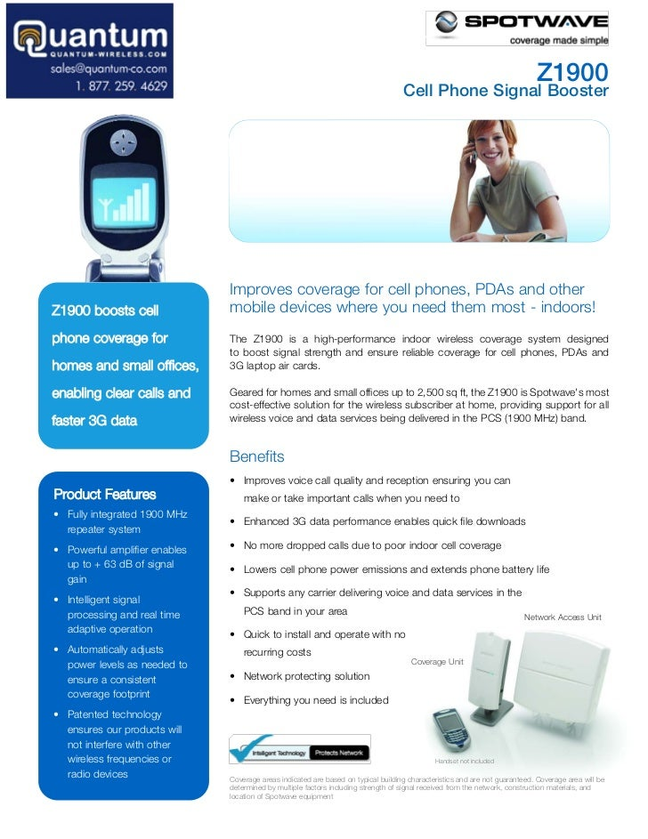 Z1900                                                                                     Cell Phone Signal Booster       ...