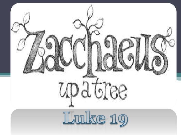 Luke 19<br />