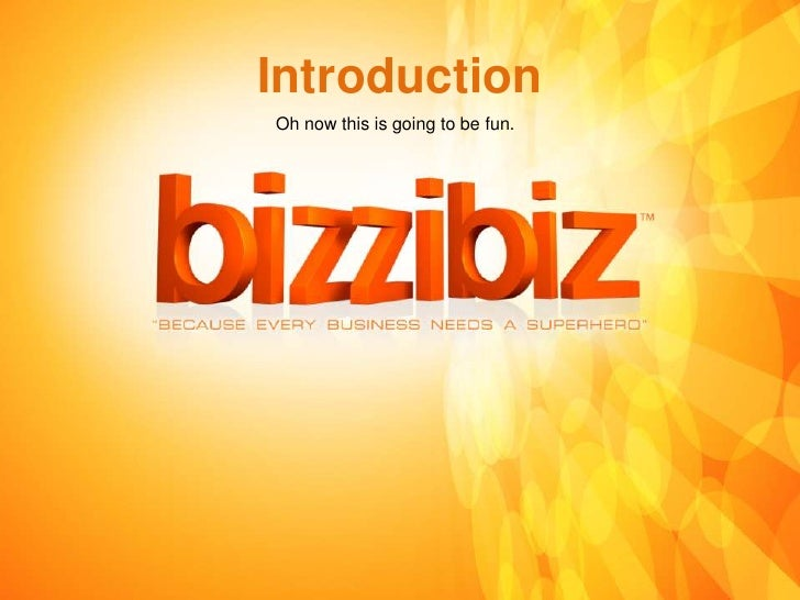 Zack Bizzibiz Ppt