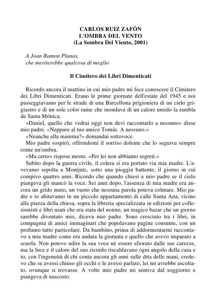 ZafóN Carlos Ruiz   L Ombra Del Vento