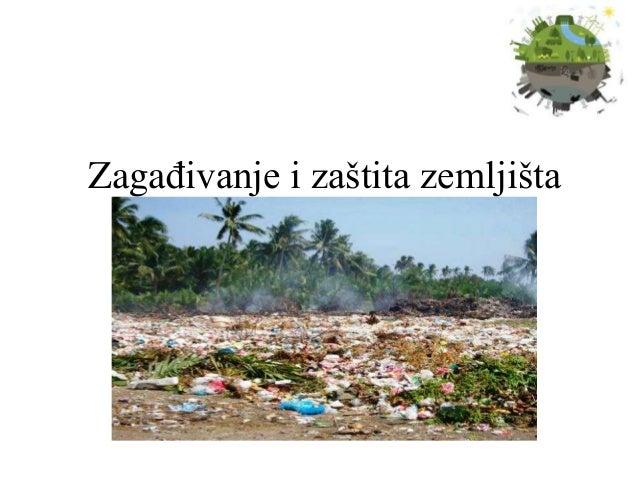 Zagađivanje i zaštita zemljišta