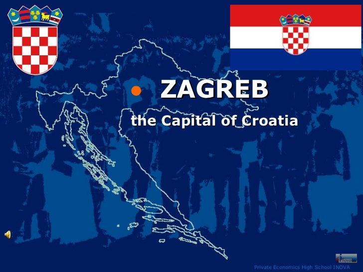Zagreb - made by students of Inova