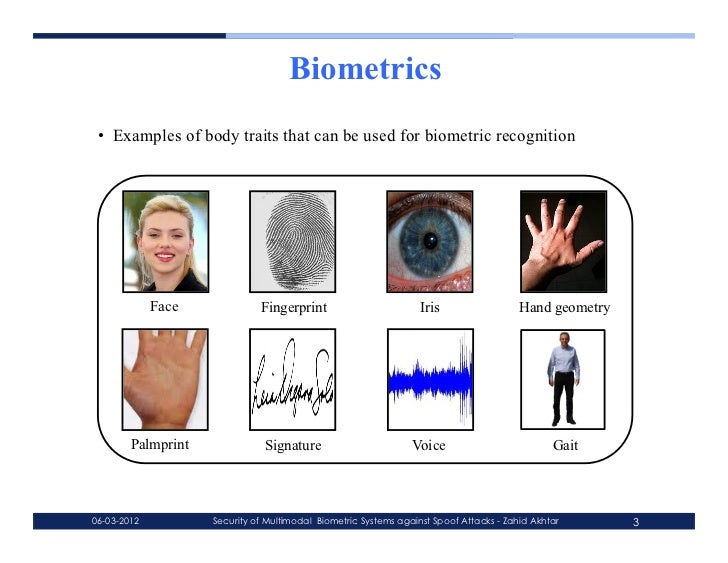 Phd thesis on multimodal biometrics