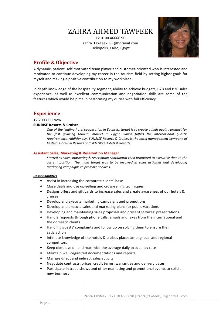 resume for fresh graduate hrm