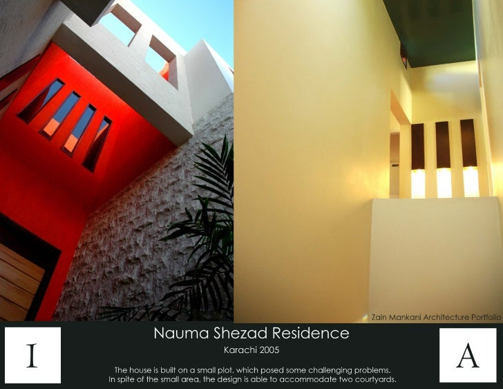 Zain Mankani Architecture Portfolio