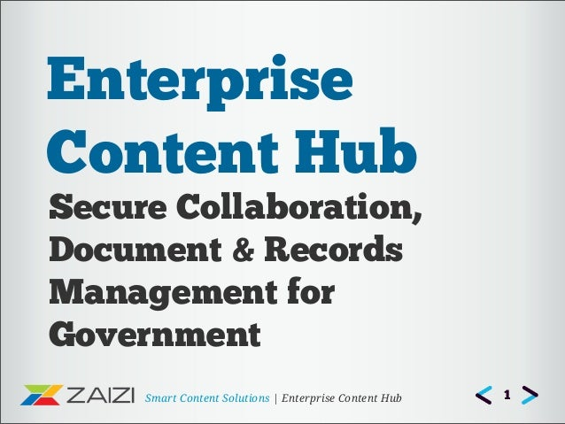 Alfresco Enterprise Content Hub