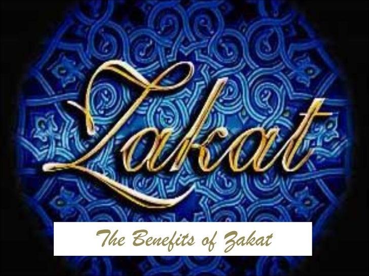 The Benefits of Zakat