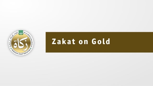 Zakat on Gold