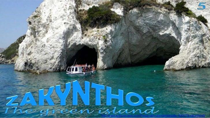 Zakynthos the green island