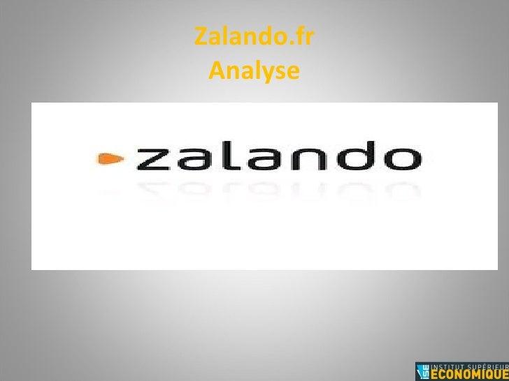Zalando.fr Analyse