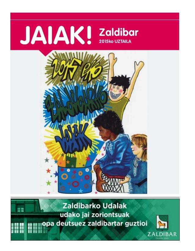 JAIAK! 2015ko UZTAILA Zaldibar