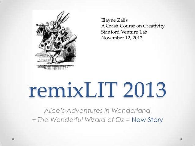 remixLIT 2013