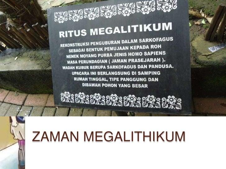 ZAMAN MEGALITHIKUM