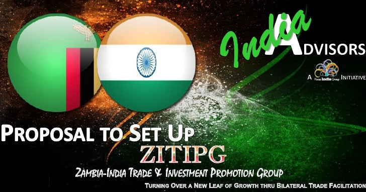 ZAMBIA-INDIA TRADE & INVESTMENT PROMOTION GROUP