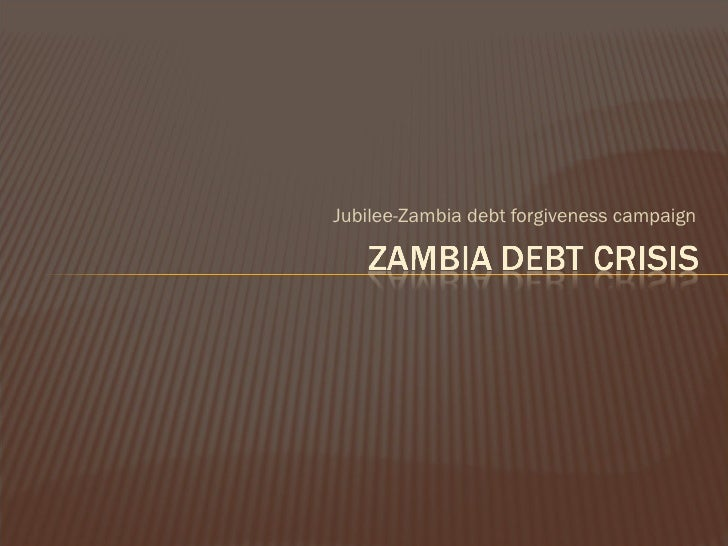 an introduction to the zambias debt crisis 2 the macroeconomic framework 21 introduction at independence in 1964,  zambia inherited a dualistic economy that was heavily dependent on the mining .