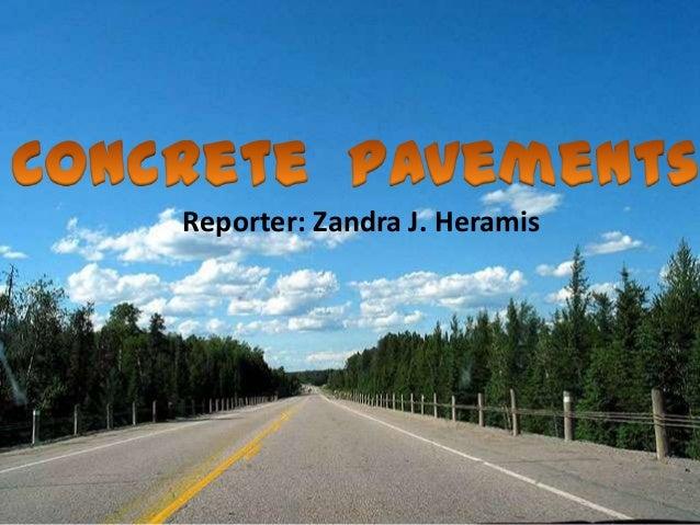 Reporter: Zandra J. Heramis