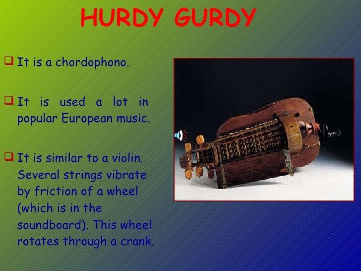 <ul><li>It is a chordophono. </li></ul><ul><li>It is used a lot in  popular European music.  </li></ul><ul><li>It is simil...
