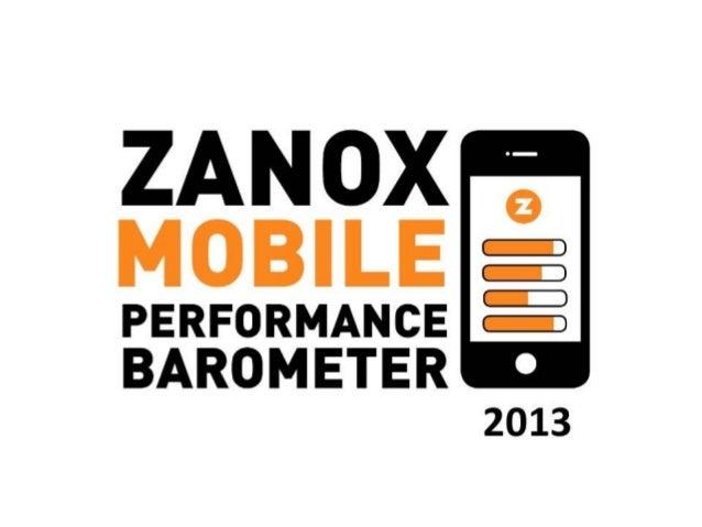 zanox Mobile Performance Barometer 2013 L'Europe poursuit sa croissance en termes de m-commerce. +95% de chiffre d'affaire...