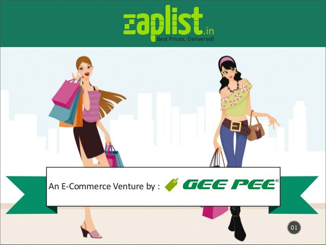 01An  E-­‐Commerce  Venture  by  :.inBest  Prices,  Delivered!
