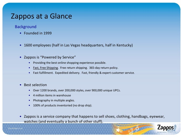 """zappos recruitment policy The online shoe retailer zappos has always stood out for its unconventional human-resources philosophy for nearly a decade the company has been making something it calls """"the offer"""" to new hires—an opportunity to take a $2,000 stipend instead of starting the job the company prides itself on."""