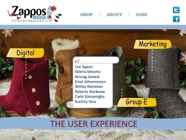 The user experience at Zappos.com