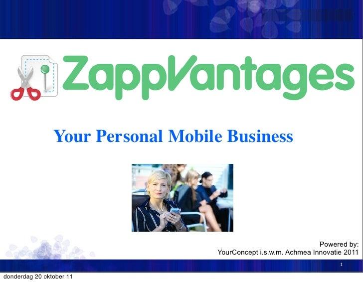 Zapp vantage   yourconcept&achmea innovatie 2011