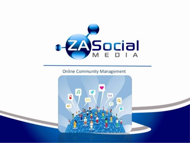 Online Community Management