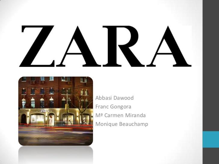 internationalisation of the spanish fashion brand