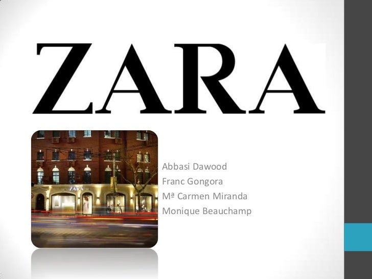internationalisation of the spanish fashion brand zara These are the sources and citations used to research internationalisation of zara internationalisation of the spanish fashion brand zara.