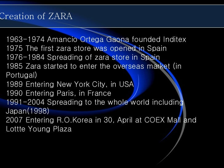 Zara fast fashion case study questions