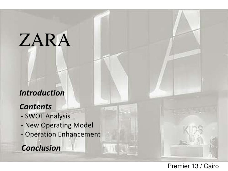 zara swotanalysis This report is based on zara company read the whole case study sample buy academic papers from us for cheap prices.