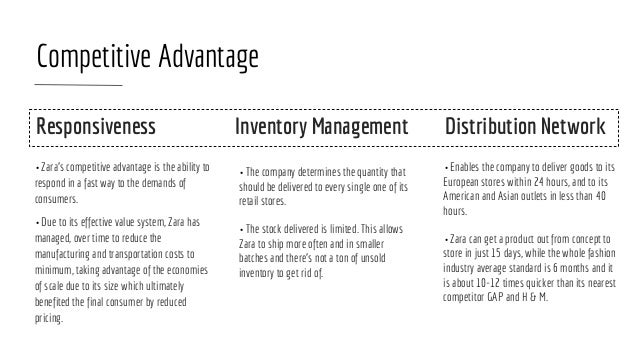 zara inventory management Many retailers have stumbled implementing rfid tags for inventory control, but the zara chain is working the system the scale and speed of.