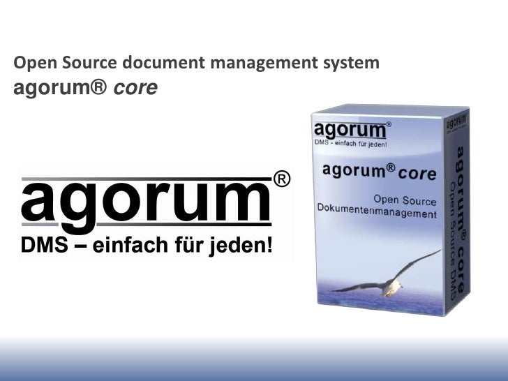 Open Source document management systemagorum® core