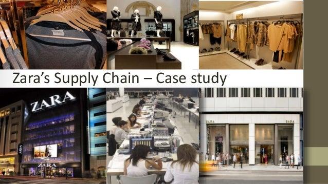 zara supply chain management case study