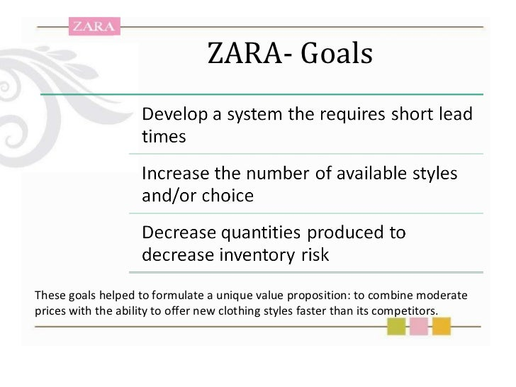 strategic groups zara Sourcing strategies in clothing retail firms 1 two different strategic groups in terms of production management models firstly, there is a group identifiable as.