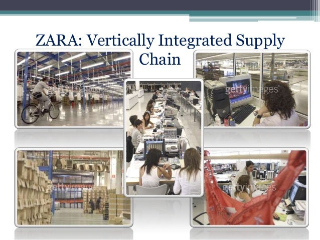 supply chain and zara Zaras as a supply chain example description: new dresses arrive in stores in 3 weeks compared to 36 weeks for gap  chapter 3: zara:.