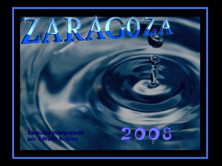 Zarzuela interpretada por Alfredo Krauss