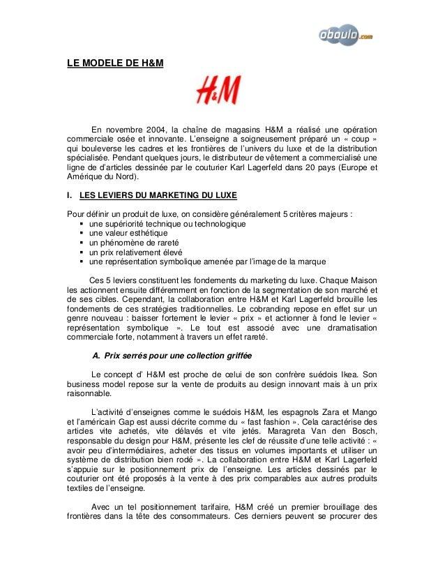 h&m cv en ligne exemple de cv h&m   CV Anonyme h&m cv en ligne