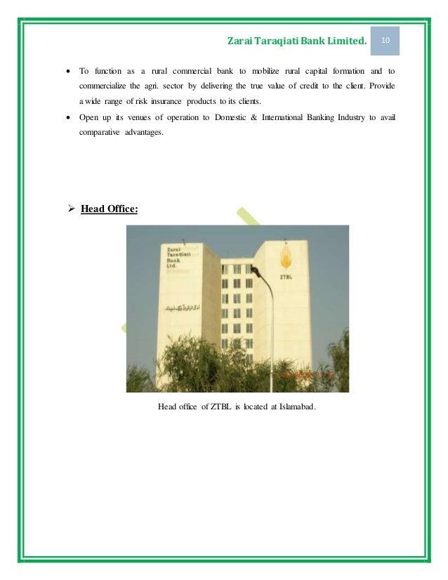 Zarai Taraqiati Bank Cb An Efficient And Operationally Convenient