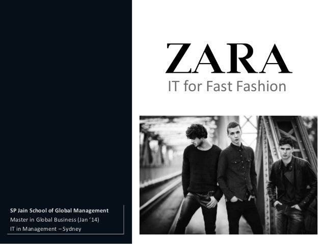 Zara's Secret for Fast Fashion