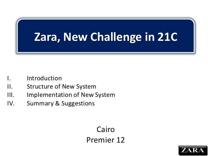 Zara new challenge
