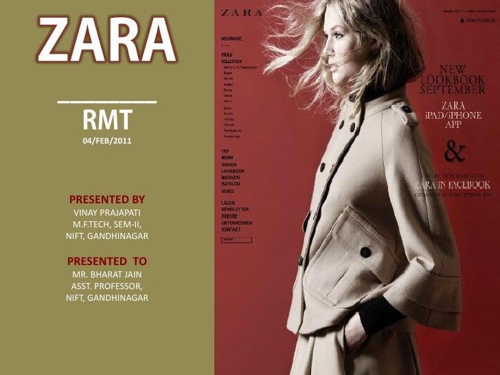 Zara Logistics & Retail Management Technology