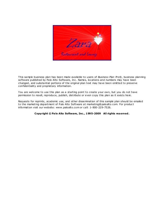 Zara restaurantandlounge